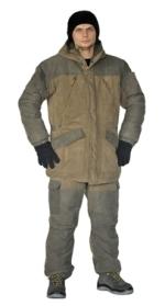 Костюм «ГЕРКОН» зимний куртка/брюки мембранный непромокаемый дышащий ткань Финляндия хаки