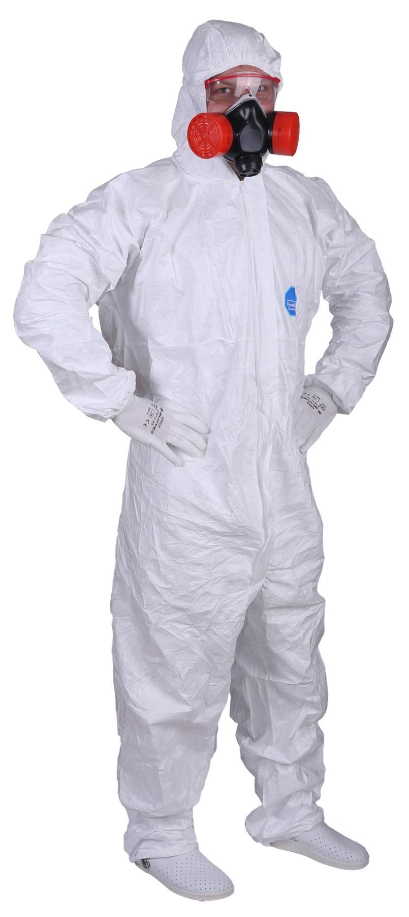 Комбинезон Дюпон™ Тайвек® 500 Эксперт от биологического заражения.