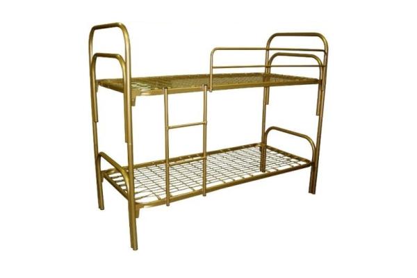 Кровати металлические одноярусные, двухъярусные, трехъярусные, раскладные