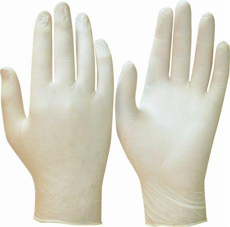 Перчатки ТонЛат, только упак.50 пар (латекс, пудра, бесцв.,толщ.0,12мм,дл.245мм.) р.S,M,L