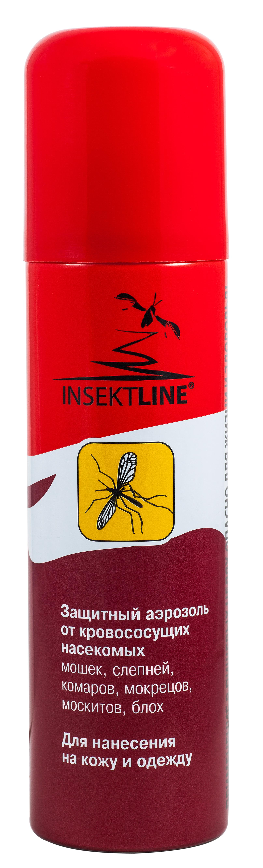 Защитный аэрозоль от кровососущих насекомых ИНСЕКТЛАЙН