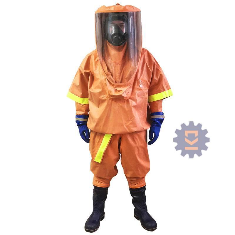 Костюм изолирующий химический КОМБАТ «БЕТА» (КИХ-П-КИО) (тип костюма 1b)