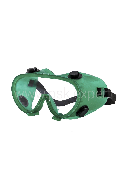 Очки слесарные с непрямой вентиляцией ОЧК401