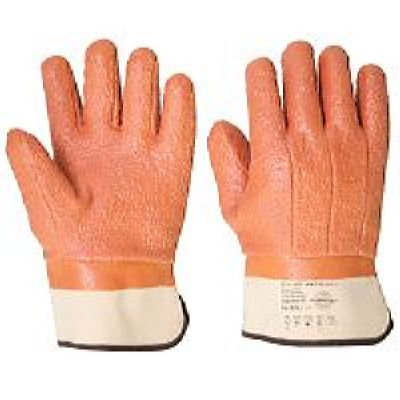 Перчатки утепленные КОЛД ГРИПП КП р. 10, 11 (ПВХ,Латекс,крошка,манжет-крага)