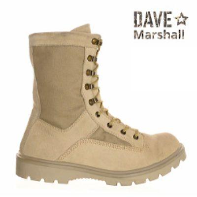 Ботинки кожаные облегченные с высокими берцами HOWARD D-8