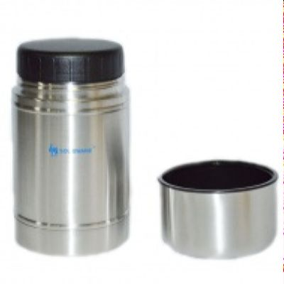 Термос LUO TUO  с широким горлом, вакуумный.  стальной, 0,75л (упак. 12 шт.)