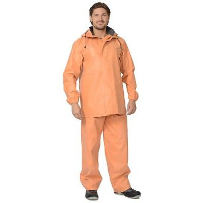 Костюм РОКОН-БУКСА  рыбацкий: куртка, полукомбинезон (тк. 1045) оранжевый АНАЛОГ 02930
