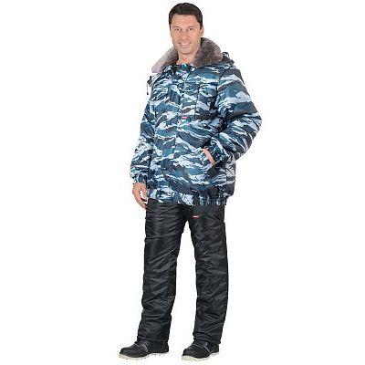"""Куртка """"ПОЛЮС"""" короткая, КМФ """"Серый вихрь"""""""
