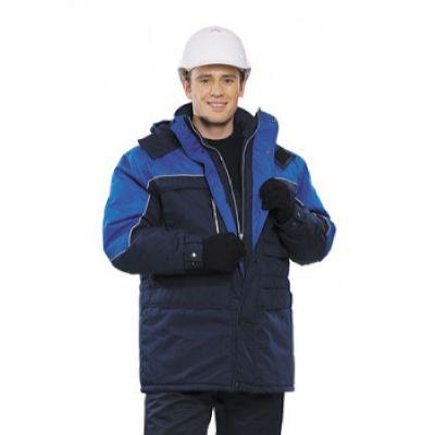 Куртка зимняя ФРИСТАЙЛ цвет: т.синий/василек