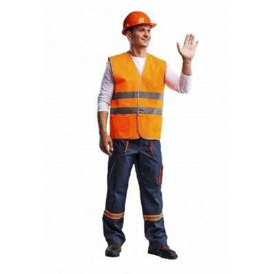 Жилет Сигнальный 2 оранжевый ЖИЛ320