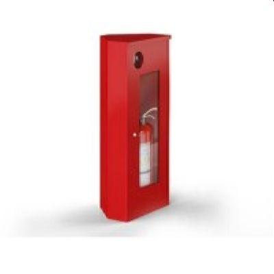 ШПО-107 открытый угловой красный/белый