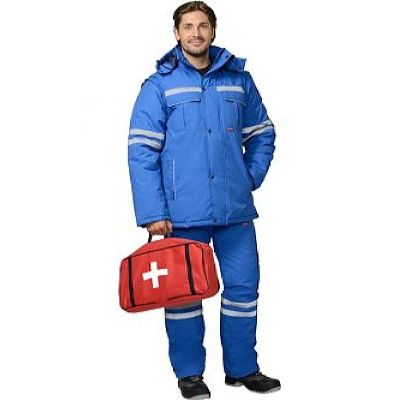 Костюм СИРИУС-СКОРАЯ ПОМОЩЬ мужской зимний: куртка, п/комб.