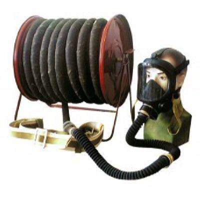 Противогаз шланговый ПШ-40Б - ЭРВ шланг ПВХ (Барабан)