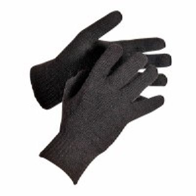 Перчатки полушерстяные, двойные