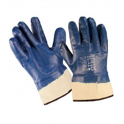 Перчатки нитриловые, крага, полное покрытие (60 пар в уп.)