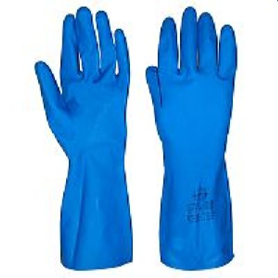 Перчатки КЛИНХОУМ, в уп.144пар (латекс,хлопк.слой, толщ.0,40мм,дл.300мм.)