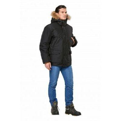 Куртка Аляска укороченная черный КУР562