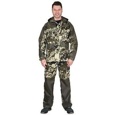 Костюм СИРИУС-Эверест куртка, брюки (тк. Кроун) КМФ Пиксель