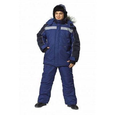 Костюм Аляска синий/черный  КОС636