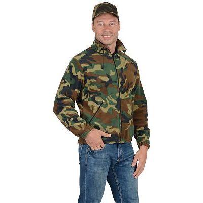 Куртка флисовая 260г/кв.м КМФ Нато