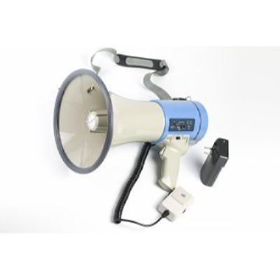 MG-66SUL/blue мегафон 25Вт, выносной микрофон