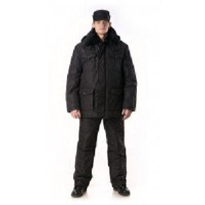 Костюм ОХРАННИК утепленный (куртка+полукомбинезон)