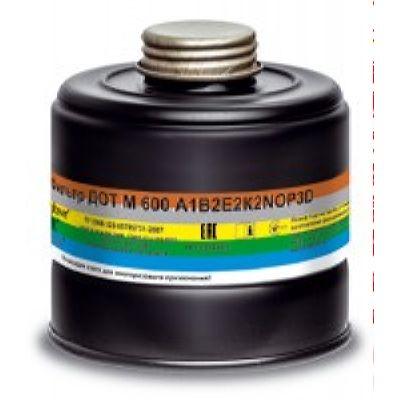 Фильтр для противогаза ДОТ М 600 A1В2Е2К2NOP3D