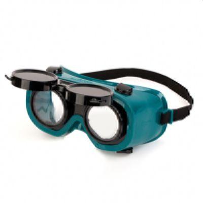 Очки Рейнджер газосварочные закрытые непрямая вентиляция, откидные затемнен. линзы 5 DIN с AF-AS