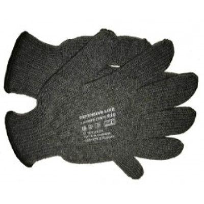 Перчатки трикотажные утепленные