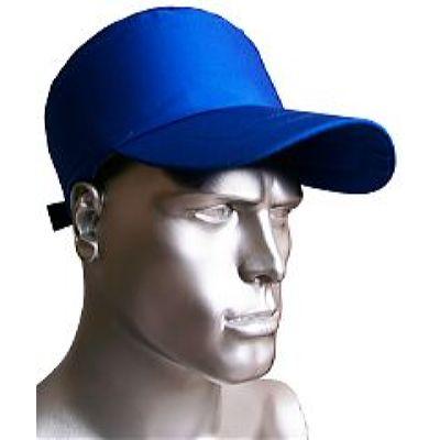 Каскетка-бейсболка ПРЕСТИЖ AMPARO защитная синяя  (126905) (с/з от 100 шт.)