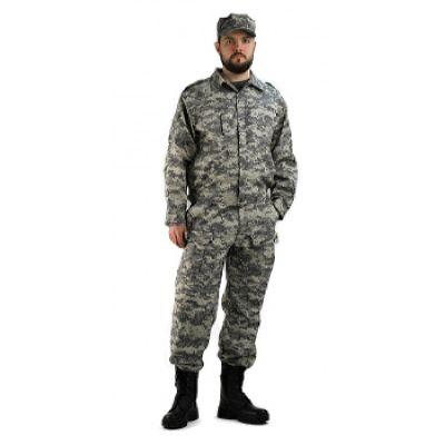 Костюм мужской Спецназ рип-стоп Светло-серая цифра