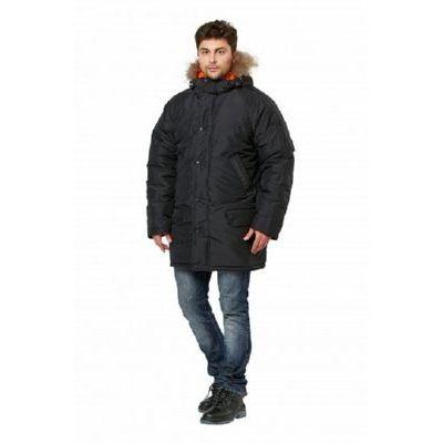 Куртка Аляска удлиненная черный КУР563