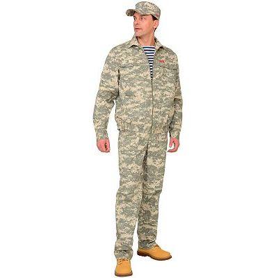 Костюм СИРИУС-Рысь куртка, брюки (тк. Рип-стоп 210) КМФ Пустыня