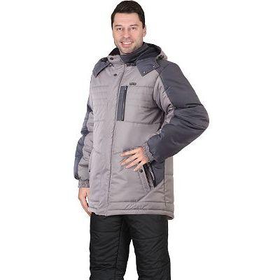 Куртка ЕНИСЕЙ светло-серый с серым