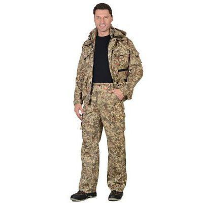 Костюм СИРИУС-Пума куртка, брюки (тк. Грета 210) КМФ Памир