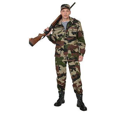Костюм СИРИУС-Патриот куртка, брюки (тк. Рип-стоп) КМФ Нато