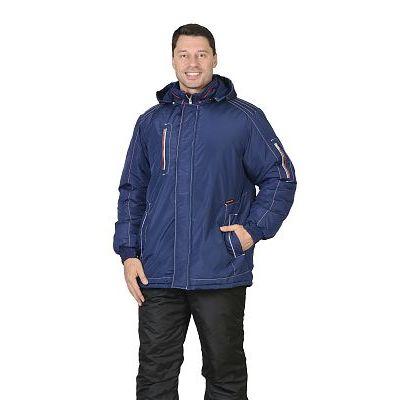 Куртка СИРИУС-АЛЕКС: зимняя, мужская, цв. т-синий