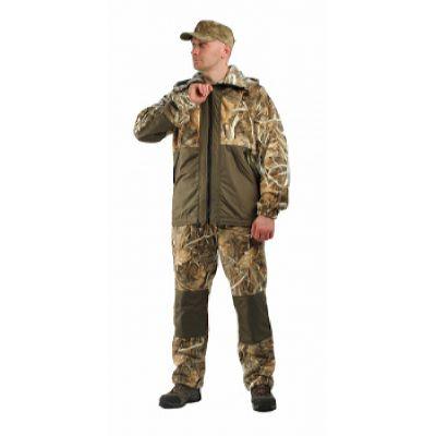 """Флисовый костюм """"Панда"""" кмф """"Осока"""" с накладками,350г/м2"""