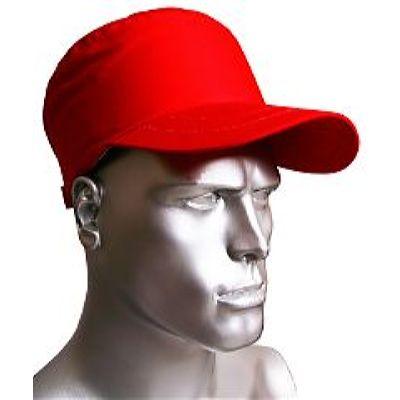 Каскетка-бейсболка ПРЕСТИЖ AMPARO защитная красная (126906)
