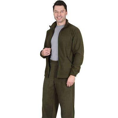 Куртка флисовая 260г/кв.м оливковая