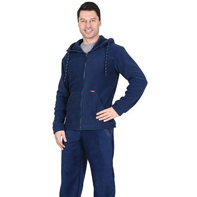 Куртка флисовая СИРИУС-Меркурий темно-синяя