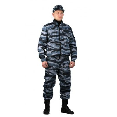 """Костюм охранника  мужской """"Контрол"""" летний серый вихрь тк. РИП-СТОП"""