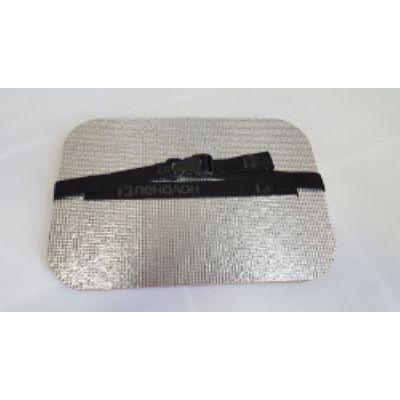 Коврик (сидушка металлизированная) 350*240*15 (50шт. в уп.)