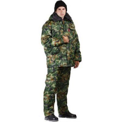 Брюки мужские Охрана зимние кмф нато