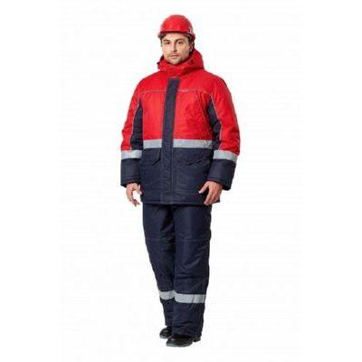 Куртка Сунтар т.синий/красный КУР631