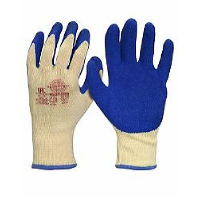 Перчатки Хедмен р.S,M,L,XL (хлопок +п/э с покрытием губчатый латекс,10-й класс вязки),в уп360пар