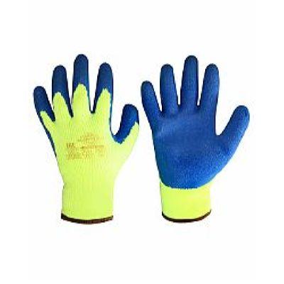 Перчатки утепленные АКРИЛАТ (акрил 7-й класс вязки, латексное покрытие ладони и пальцев), в уп.72п