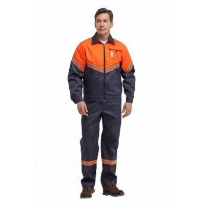 Куртка Илион графит/оранжевый КУР623