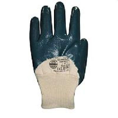 Перчатки нитриловые СИРИУС-НИТРИЛ РЧ (ЛЮКС) с трик.манжетами полуоблив, р. 9,10,11,в уп120пар