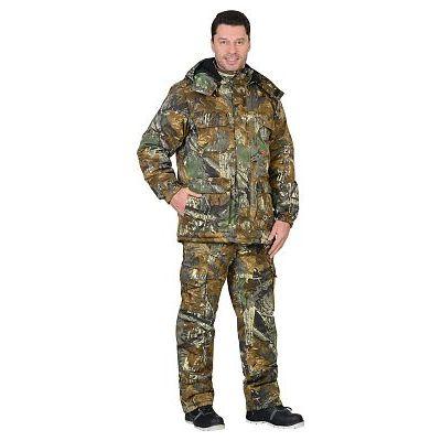 Костюм СИРИУС-ФОРЕСТ зимний куртка дл., брюки (тк.CROWN-230) КМФ
